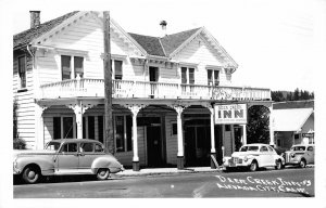 DEER CREEK INN Nevada City, California Hotel RPPC ca 1950s Vintage Postcard