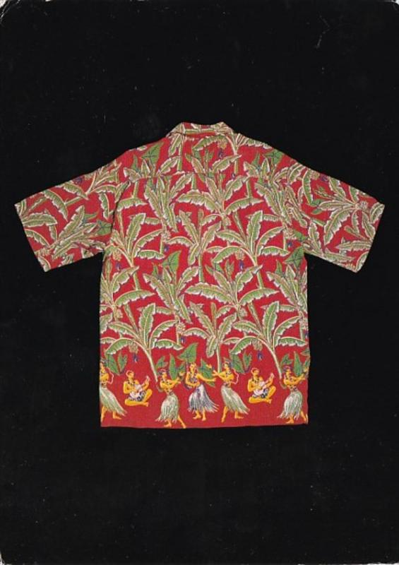 Advertising Dreamland Shirt Collection Vintage Hawaiian Shirt Detail 8316