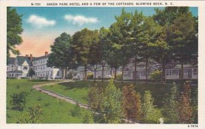 North Carolina Blowing Rock Green Park Hotel And A Few Of The Cottages  Alber...