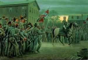 Civil War Gettysburg Town Square 1 July 1863