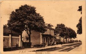 CPA CHARMES La Gare (401157)