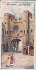 Player Vintage Cigarette Card Celebrated Gateways 1909 No 40 Cripplegate London