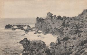 ST KITTS , 00-10s ; Black Rocks
