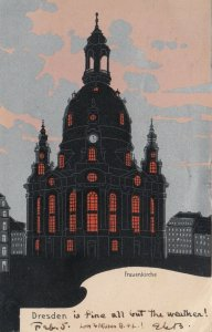 Dresden, Germany, 1905 ; frauenkirche