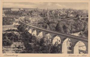 Railroad Tracks, Viaduct Du Nord, Luxembourg, 1910-1920s