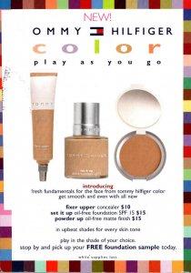 Advertising Tommy Hilfiger Make Up 2006