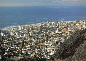 South Africa Cape Town Sea Point General view from Signal hill Panorama