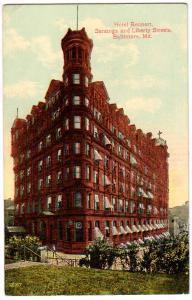 Hotel Rennert, Baltimore MD