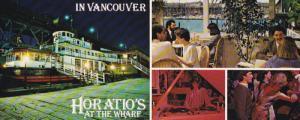 Horatio's Restaurant , VANCOUVER , B.C. , Canada , 50-60s