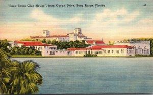 Florida Boca Raton The Boca Raton Club HOuse From Ocean Drive