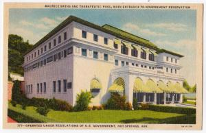 Maurice Baths & Therapeutic Pool, Hot Springs, AR