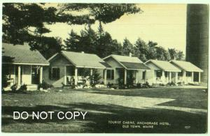 Tourist Cabins, Anchorage Hotel, Old Town Me