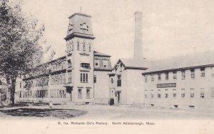 NORTH ATTLEBOROUGH , Massachusetts, 1900-10s ; E. Ira. Richards Co's Factory