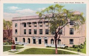 Missouri Sedalia Pettis County Court House