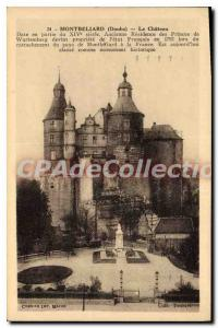Old Postcard Montbeliard The Castle