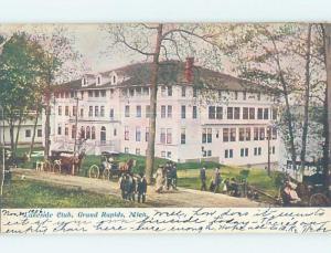 Pre-1907 BUILDING Grand Rapids Michigan MI A0550