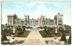 Windsor Castle, East Terrace, early 1900s unused Postcard