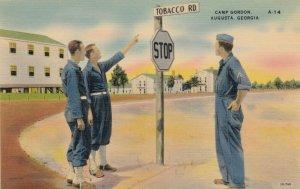 AUGUSTA , Georgia , 30-40s; Tobacco Rd., Camp Gordon