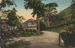 Panama Ancon Hospital Grounds 1919