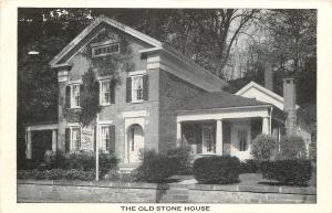 North Bennington Vermont~Old Stone House~1920s B&W PC