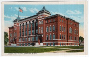 Lewiston, Maine, Jordan High School