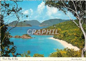 Modern Postcard Trunk Bay St John Virgin Islands Located on the north shore o...