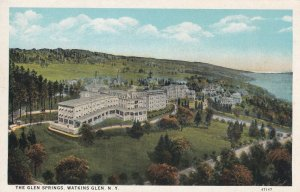 WATKINS GLEN, New York, 1900-1910s; The Glen Springs