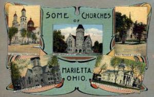 Some Churches of  Marietta OH Unused