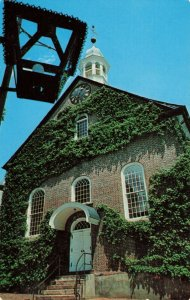 Postcard Moravian Church Winston Salem North Carolina