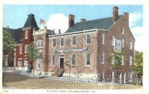 Fredericksburg, VA Mason, Mason's Fraternal Organization, Postcard Post Card ...