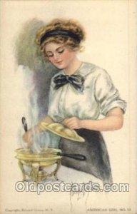 Alice Fidler American Girl No. 13 writing on back