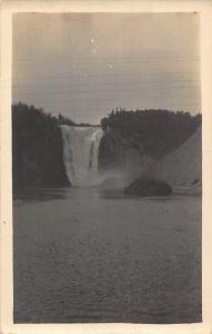 Canada Quebec Montmorency Falls Cascade Postcard