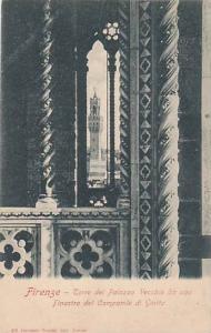 Torre Del Palazzo Vecchio Da Una Finestra Del Campanile Di Giotto, Firenze (T...