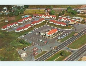 Unused Pre-1980 GAS STATION BY DUTCH VILLAGE MOTEL New Castle Delaware DE u6546