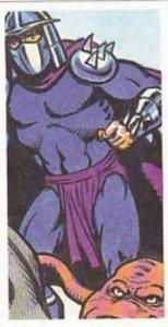 Brooke Bond Tea Trade Card Teenage Mutant Hero Turtles 1990 No 2 Shredder &am...
