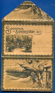 Schenectady 1910s New York ny postcard folder