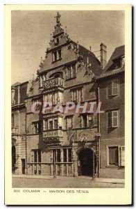 Old Postcard Colmar House of the heads