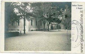 04894  CARTOLINA d'Epoca - PAVIA: SALICE TERME - 1910