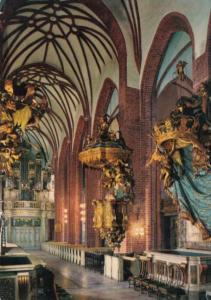 Sweden Stockholm Predikstolen Interior med norra Kungsstolen