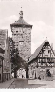 Germany Rothenburg Siebersturm Real Photo
