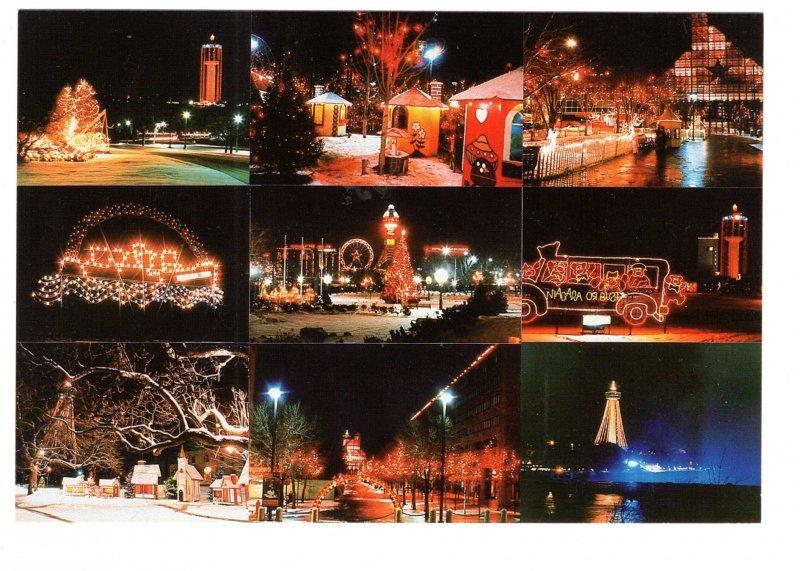 Festival of Lights Photo Collage, Niagara Falls, Ontario, New York
