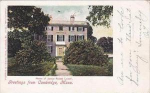 Massachusetts Cambridge Greetings From Cambridge 1905