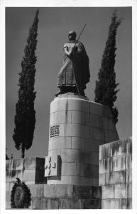 Portugal Guimaraes Monument a D Afonso Henriques Statue Postcard