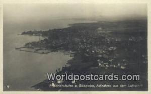 Friedrichshafen a Bodensee Germany, Deutschland Postcard Aufnahme aus dem Luf...
