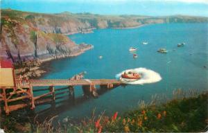 Launching St. David`s life boat