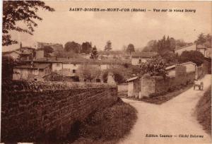 CPA Saint Didier au Mont d'Or - Vue sur le Vieux bourg (573322)