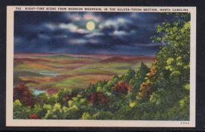 North Carolina colour PC Warrior Mountain Saluda-Tryon Section, unused