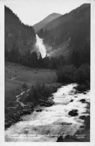 Krimmler Ache Oberer Wasserfall Waterfall