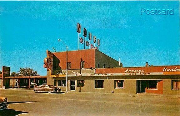 Nv Wells Nevada Wagon Wheel Hotel Motel 60s Cars Dexter 9122b