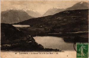 CPA LAFFREY - Le Grand Lac et le Lac Mort (583369)